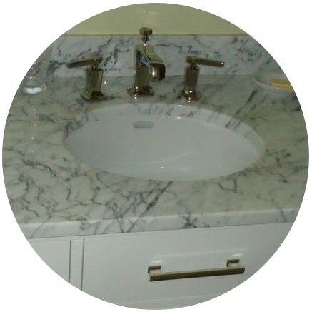 How a sink looks after a makeover