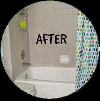 Bathtub Makeover Wizards After Resurfacing in Gainesville FL